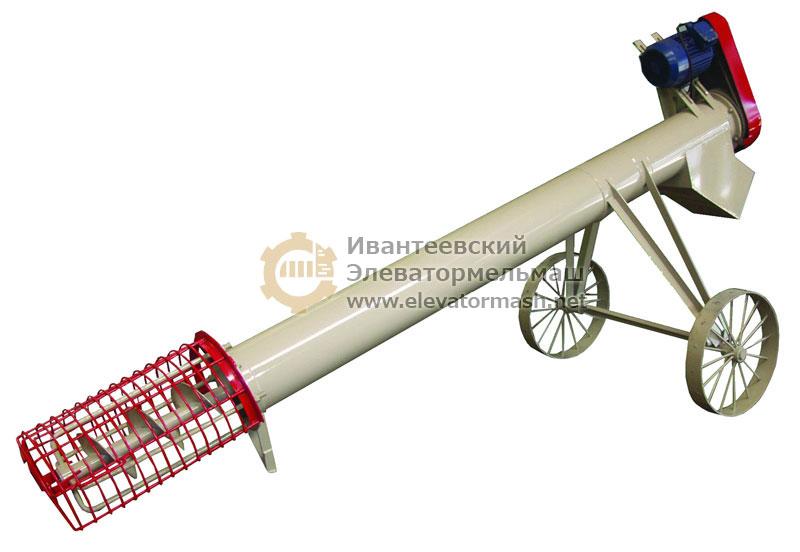 Самоподаватель шнековый передвижной УСВ для фв транспортер т5